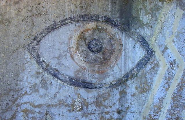 das Auge in Stein